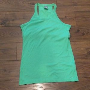 Nike tank with built-in bra